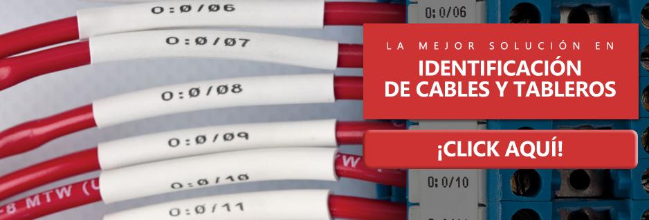 Identificación de Cables y Tableros